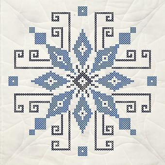 Estampillée Quilt Blocks 18 « X 18 » 6 Pkg Cross Stitch roue 95211