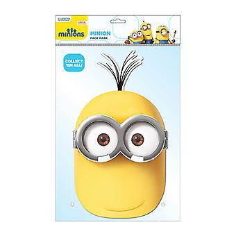 Minion Kevin Official Minions Card Party Face Mask