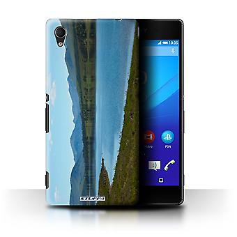 STUFF4 Case/Cover for Sony Xperia M4 Aqua/Loch/Valley/Scottish Landscape