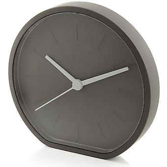 Grey Lexon Side Clock