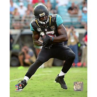 Denard Robinson 2014 Action Photo Print