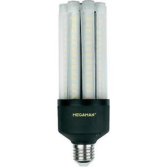 LED Megaman 230 V E27 27 W = 167 W Warm white EEC: A+ Rod (Ø x L) 63 mm x 188 mm 1 pc(s)