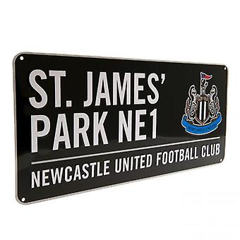 Newcastle United Street Sign BK