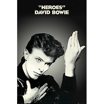 David Bowie Heroes Maxi Poster