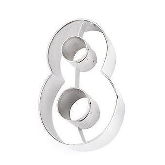 Numero Cookie Cutter - 8