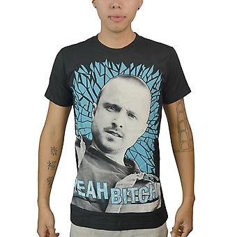Breaking Bad Jesse Pinkman mænds sort T-shirt