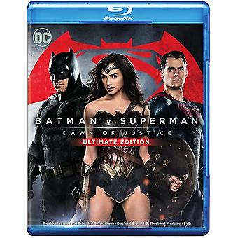 Superman Batman V: Dawn of Justice [Blu-Ray] USA import