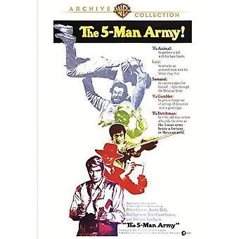 5 人の軍隊 (1969) 【 DVD 】 アメリカ インポートします。