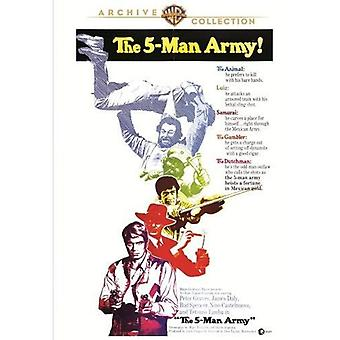 Importer des USA [DVD] cinq Man Army (1969)
