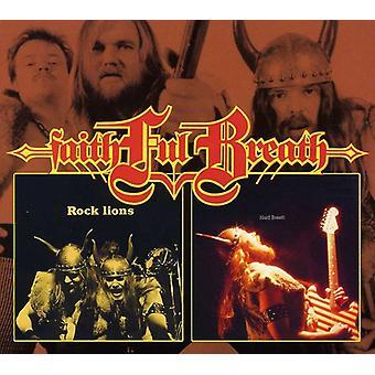 Faithful Breath - Rock Lions/Hard Breath [CD] USA import