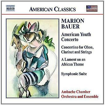 M. Bauer - Marion Bauer: American Youth Concerto [CD] USA import