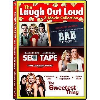 Bad Teacher / Sex Tape / Sweetest Thing [DVD] USA import