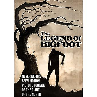 Legend of Bigfoot [DVD] USA import