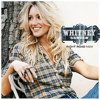 Whitney Duncan - Right Road Now [CD] USA import