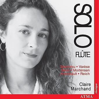 Reich/Takemitsu/Berio/Varese - Solo Fl Te [CD] USA import