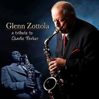 Glenn Zottola - refleksioner af Charlie Parker [CD] USA import