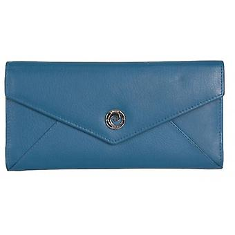 Pierre Cardin Flap Over Envelope Purse - Dark Blue