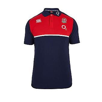 CCC England Rugby Cotton Training Polo [Navy]