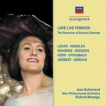 Sutherland, Joan / Bonynge, Richard - Love Live Forever [CD] USA import