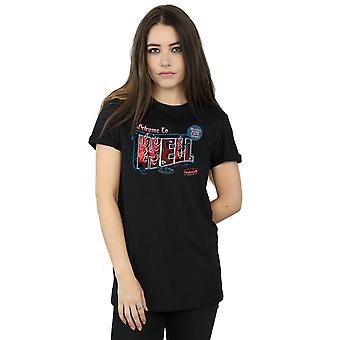 Supernatural Women's Welcome To Hell Boyfriend Fit T-Shirt