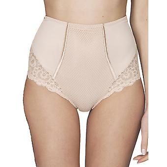 Maison LeJaby 13856-247 Women's Gaby Pink With Lace Panty Shaper Sculpting Brief Knickers