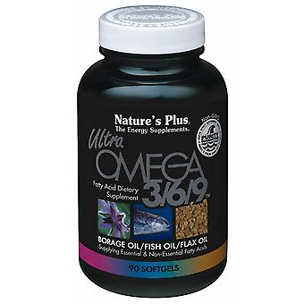 Natures Plus ULTRA OMEGA 3/6/9 1200MG SOFTGELS 90