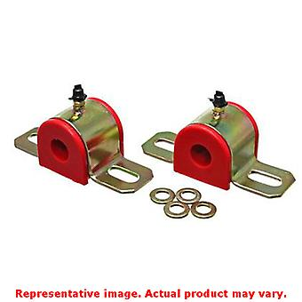 Energy Suspension Sway Bar Bushing Set 9.5155R Red Fits:UNIVERSAL 0 - 0 NON APP