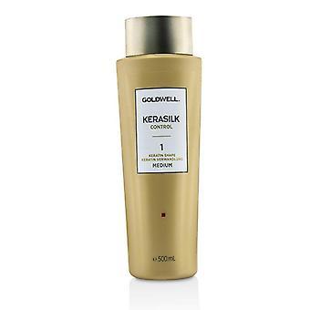 Goldwell Kerasilk Control Keratin Shape 1 - # Medium - 500ml/16.9oz