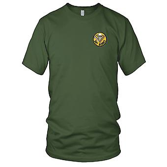 US Navy VF-75 Embroidered Patch - Gay Blades Mens T Shirt