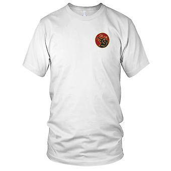 ARVN sudvietnamita 11th Air Force - insegne militari unità guerra del Vietnam Patch ricamato - Mens T-Shirt