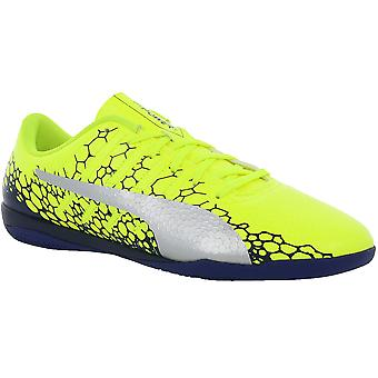 PUMA evoPOWER vigor 4 graphic IT men's Indoor shoes yellow abrasion resistant sole