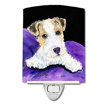 Carolines Treasures  SS8971CNL Fox Terrier Ceramic Night Light
