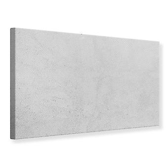Canvas Print Concrete In Light Gray