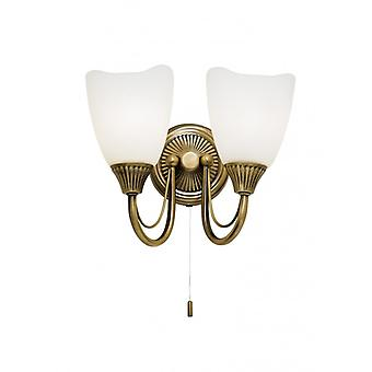 Haughton Indoor Wall Light - Endon 601-2an