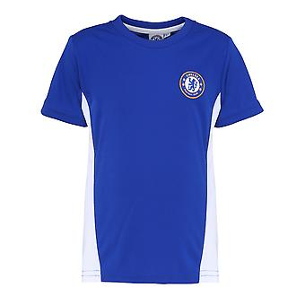 Official Football Merchandise Kids Chelsea FC Short Sleeve T-Shirt