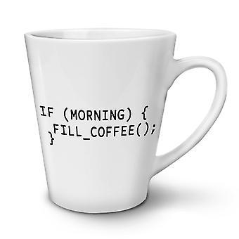 Programmierer Motto neue weißer Tee Kaffee Keramik Latte Becher 17 oz   Wellcoda