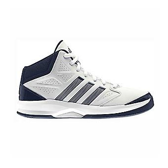 أديداس العزلة-أحذية كرة السلة-أبيض