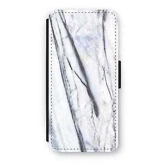 iPhone 5/5S/SE caso Flip - mármore listrado