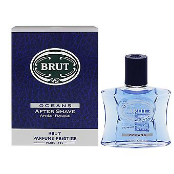 3 X Brut After Shave 100 Ml - Oceans - Boxed