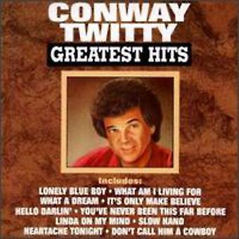 Conway Twitty - Greatest Hits [CD] USA import