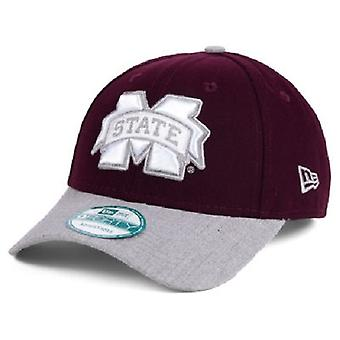 Mississippi State Bulldogs NCAA New Era 9Forty einstellbare Hat