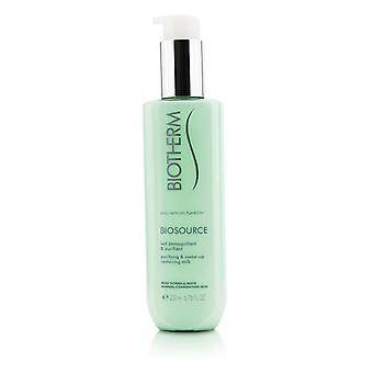 Biotherm Biosource Purifying & Make-Up Removing Milk - For Normal/Combination Skin 200ml/6.76oz