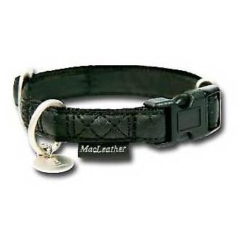 Nayeco MacLeather dog collar black XL (Dogs , Collars, Leads and Harnesses , Collars)