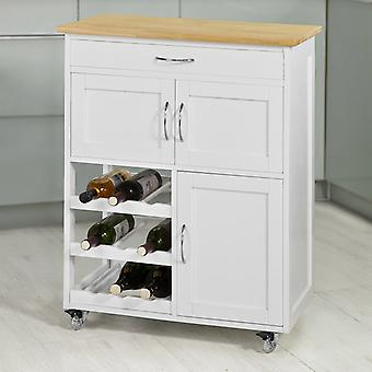 SoBuy Kitchen Serving Trolley Cart,FKW45-WN
