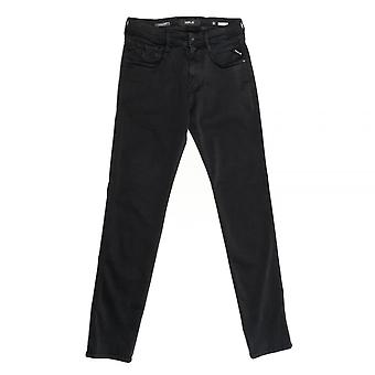 Replay Replay Hyperflex Anbass Slim-Fit Mens Jeans M914.000.661 804 007