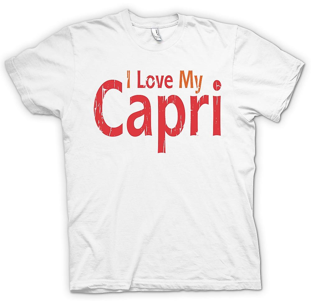 Womens T-shirt - I Love My Capri - Car Enthusiast