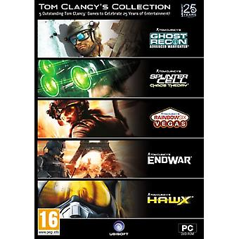 Tom Clancy samling (5 spil pack incl Ghost Recon Advanced Warfighter) (PC DVD)