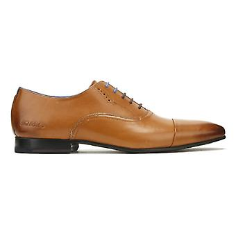 Ted Baker Mens Tan Leather Murain Shoes