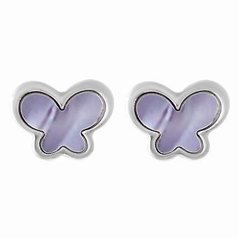 Orphelia plata 925 pendiente mariposa fregona ZO-7170