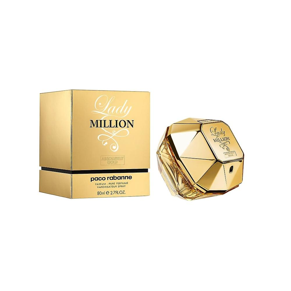 Rabanne Million Paco Pure Absolutely Gold Lady Perfume H9D2WEI